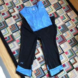 Under Armour HeatGear Outfit, Women's Large